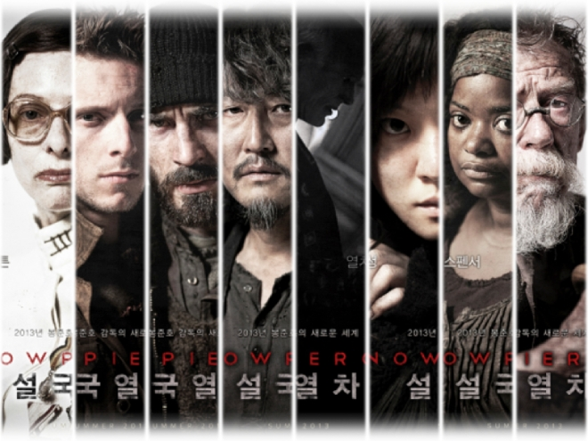 snow piercer character posters