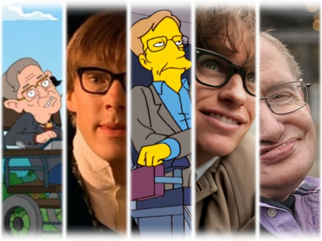 stephan hawking depictions