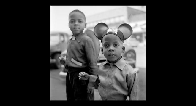 vivian maier mickey mouse kid