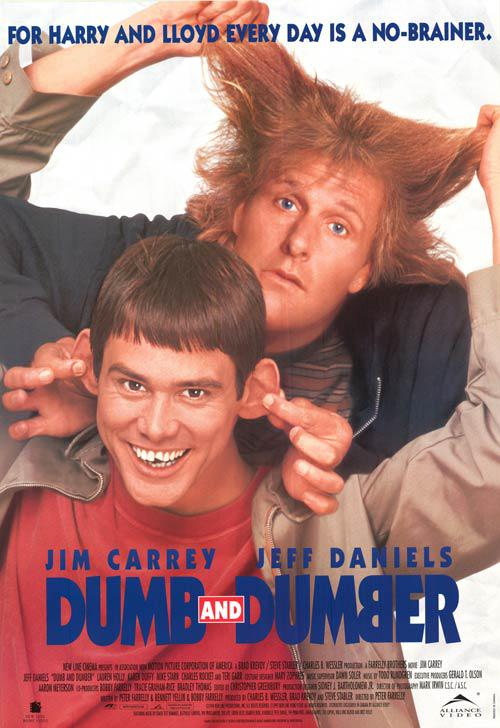 dumb and dumber poster
