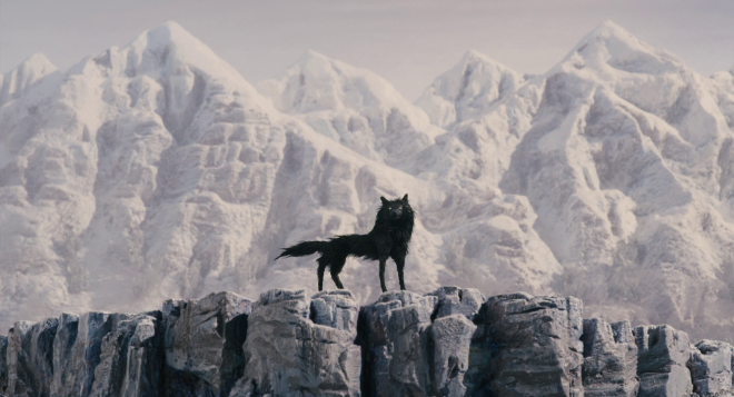 the wolf in fantastic mr fox