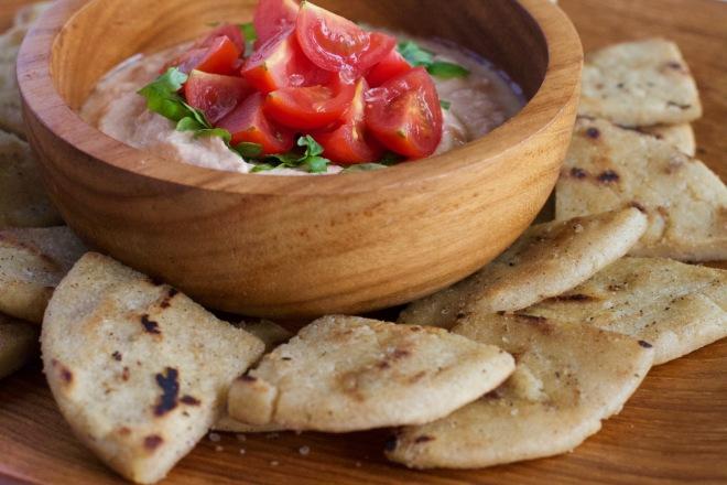 tortillas and dip