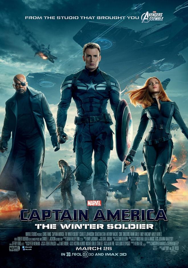 captain america poster 2