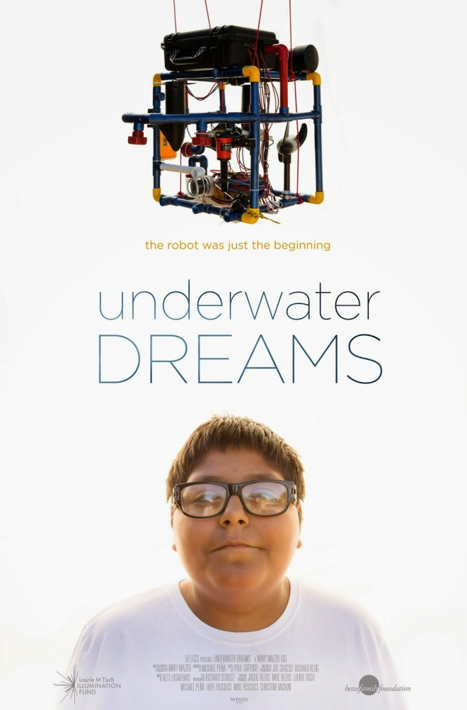 underwater dreams poster