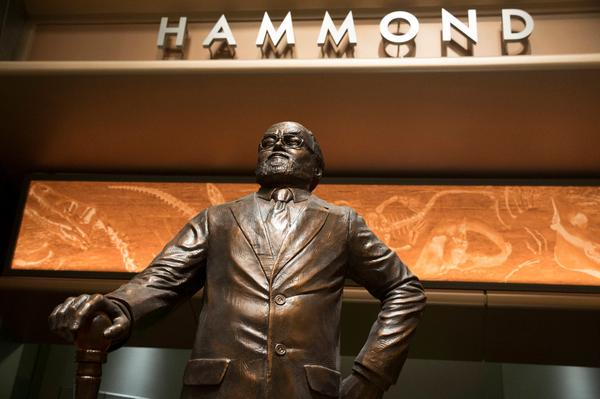 john hammond statue