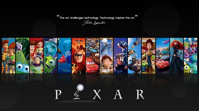 pixar filmography