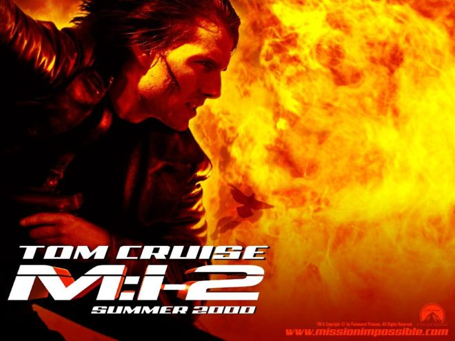 mission imposible 2 poster