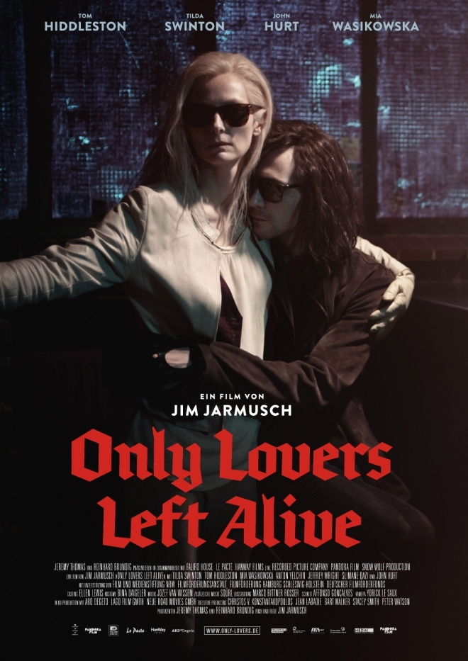 only lovers left alive poster