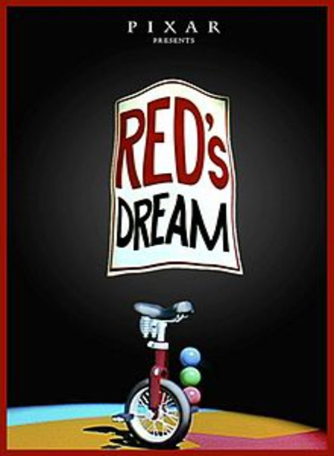red's dream poster pixar